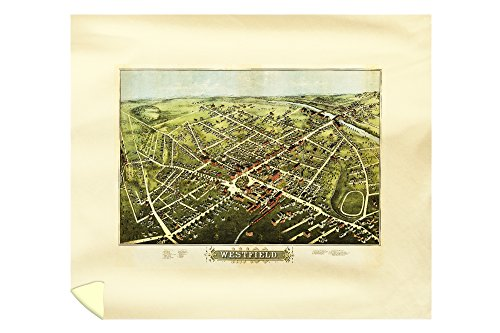 westfield-massachusetts-panoramic-map-88x104-king-microfiber-duvet-cover