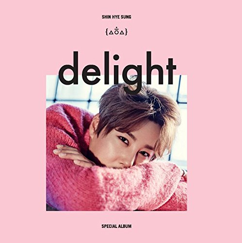 Shin Hye Sung SHINHWA - delight (Special Album) CD + Photo Booklet + Folded Poster by Live Works Company