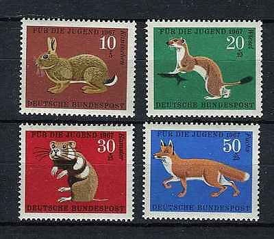 Germany Semi-Postal Stamps: 1967 Animals Set of ()