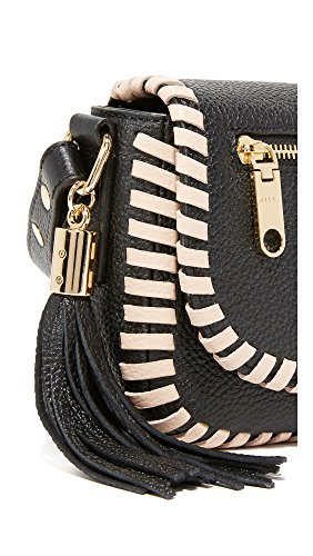 Astor MILLY Nude Saddle Contrast Small Black Whipstitch qqrdF