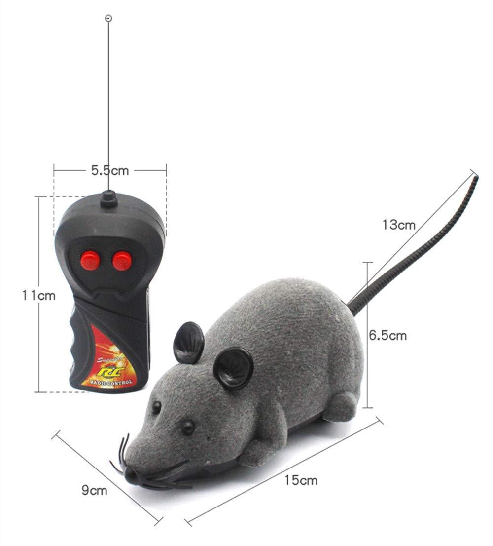 Hpybest - Ratón teledirigido para Perros y Gatos domésticos: Amazon.es: Productos para mascotas