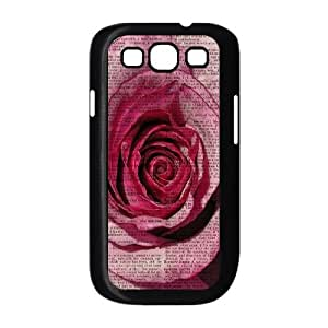 Vintage Flower Watercolor Use Your Own Image Phone Case for Samsung Galaxy S3 I9300,customized case cover ygtg586051