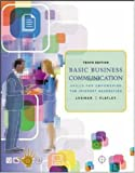 img - for Basic Business Communication: Skills For Empowering the Internet Generation w/Student CD and PowerWeb book / textbook / text book
