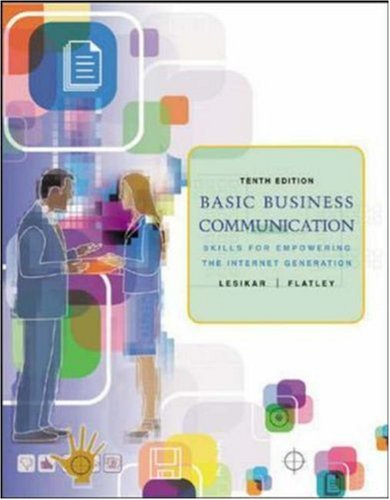 Basic Business Communication: Skills For Empowering the Internet Generation w/Student CD, B-Comm Skill Booster, and Powe