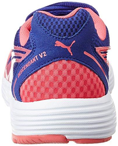 Scarpe Blue Pink Donna Corsa Puma Descendant Fluo V2 10 clematis pink W Da Rosa OOtqRx
