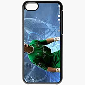 Personalized iPhone 5C Cell phone Case/Cover Skin 2013 joe hart Black