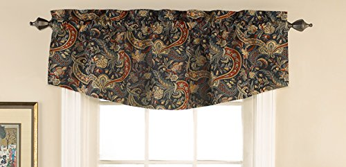 Waverly 14567052018JWL Rhapsody 52-Inch by 18-Inch Window Valance, Jewel