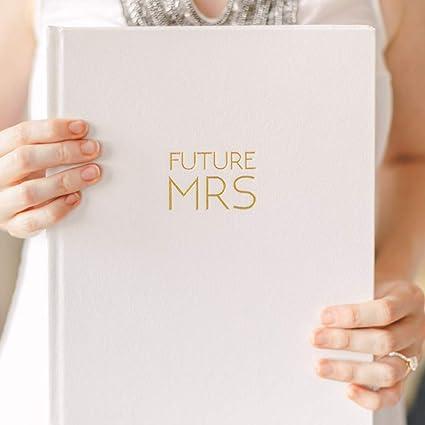 wedding planner journal organizer hardcover keepsake engagement gift set for bride to be