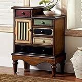 Furniture of America CM-AC145 Neche Multi-Color Accent Chest Drawer
