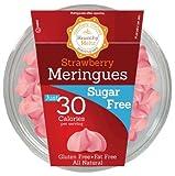 Krunchy Melts – Sugar Free Meringues – Strawberry Flavor – 2 Oz...