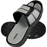 Men's Slides Slip Shoes Sandals Slipper Comfortable Shower Beach Velcro Flip Flop Flats