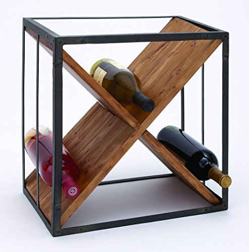 Home Sheet Décor Metal Wood Wine Simply