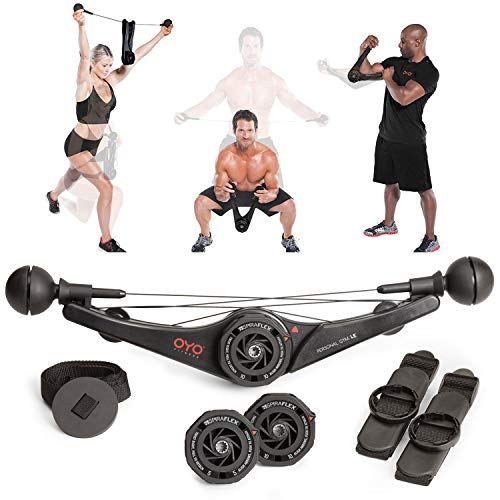 - OYO Personal Gym - Full Body Portable Gym for Home, Office & Travel Fitness - Patented SpiraFlex Strength Training Technology Used by NASA