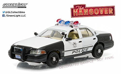 Greenlight The Hangover (2009) - 2000 Ford Crown Victoria Police Interceptor Vehicle (1:43 Scale) ()