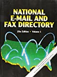 National E-mail and Fax Directory 3 Volume Set - Best Reviews Guide