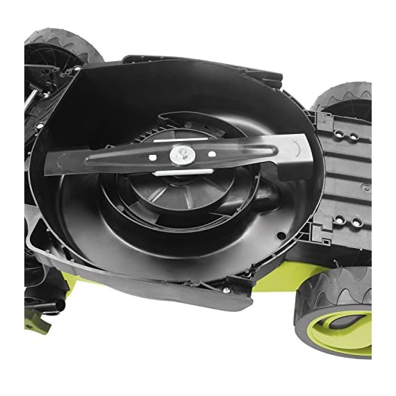 Sun Joe MJ400E 12-Amp 13-Inch Electric Lawn Mower w/ Grass Collection Bag 4 Powerful: 12-amp motor cuts a crisp 13.4 in. Wide path Adjustable deck: customize your cut with 3-position adjustable Height control: 0.98 in., 1.77 in., 2.56 in Lightweight: compact design is ideal for maneuvering around small lawns