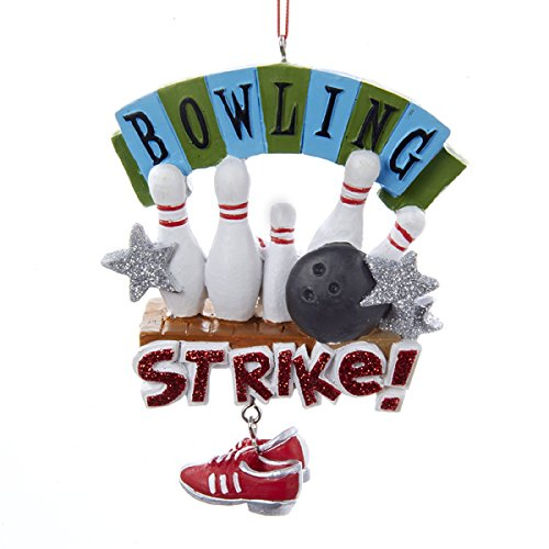Bowling Strike Sports Christmas Ornament product image