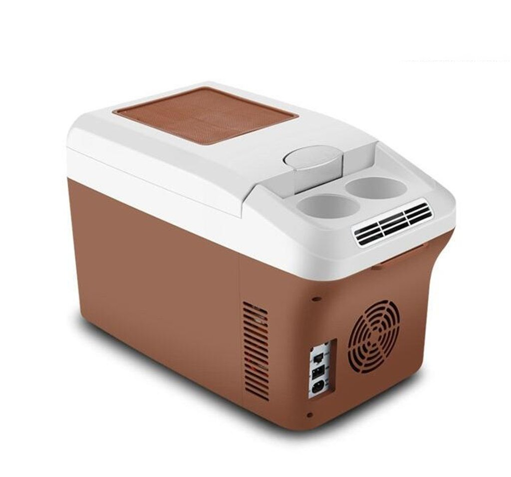 ALUS- 15L 12V DC 24V DC 220V AC Refrigeration Heating Refrigeration car Refrigerator Mini Fridge Small Home Micro Refrigerator Car Dual-use Refrigerator External Dimensions: 46.52529.5cm Internal si