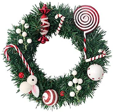 ASDZXC Artificial Wall-Mounted GarlandPine Needles Cute Simulation Garland Christmas During Indoor and Outdoor Decoration Garland 2pcs
