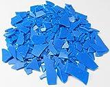 FREEMAN INJECTION WAX FLEXIBLE BLUE FLAKES WAX JEWELRY LOST WAX CASTING 1 Lb BAG (LZ 1.2 FRE) NOVELTOOLS