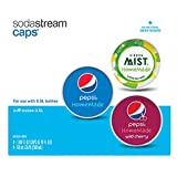 SodaStream - Pepsi HomeMade Drink Mix Caps Variety Pack, 16 Count (Includes: 8 - Regular Pepsi, 4 - Pepsi Wild Cherry, 4 - Sierra Mist)