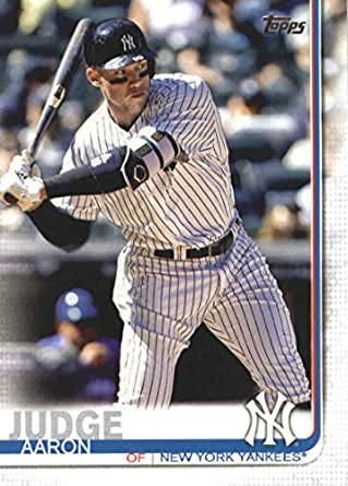 Amazoncom 2019 Topps Series 1 Baseball 150 Aaron Judge