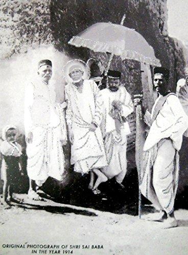 Original Photo of Shirdi Sai baba Poster -reprint on paper