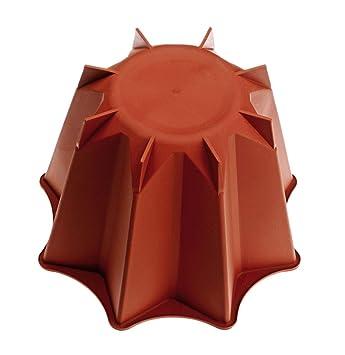 Cookware company Molde para panettone - Silicona - Diá. 26 cm x 11 cm de Altura - Calidad Garantizada: Amazon.es: Hogar