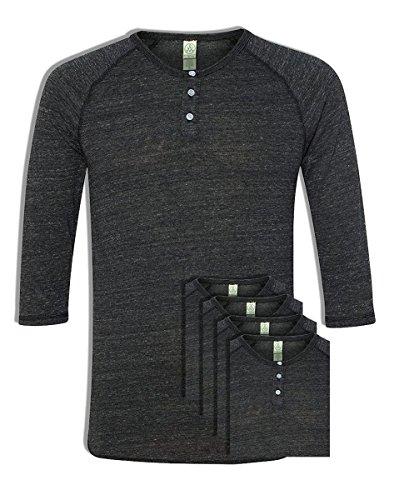 Alternative Raglan Sleeve Henley Shirt product image