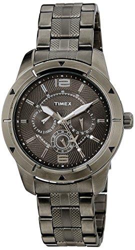 Timex-Mens-Analog-Brown-Dial-Watch