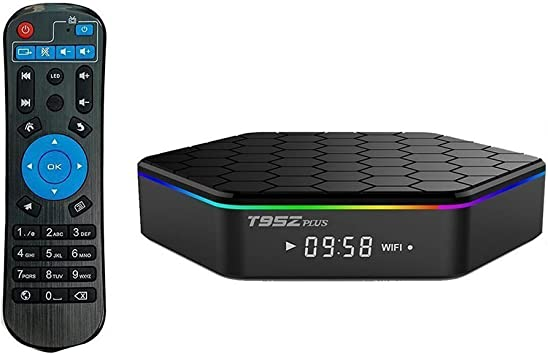YFish Android Smart TV Box Octa-Core 2G RAM 16G ROM T95Z Plus Cortex-A53 WiFi 2.4/5G 1000m LAN Bluetooth 4.0 UHD 4K 3D: Amazon.es: Electrónica
