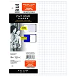 Five Star Quad Refill Paper, 3 Hole Punched, 10-7/8 X 8-3/8 Inches, 100 Sheets (66376)