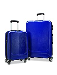 Samsonite Duraflex Lightweight Two-piece Hardside (20 inch/28 inch) Luggage Set, Blue