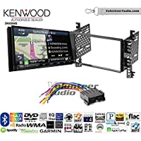 Volunteer Audio Kenwood Excelon DNX994S Double Din Radio Install Kit with GPS Navigation Apple CarPlay Android Auto Fits 2001-2006 Hyundai Elantra