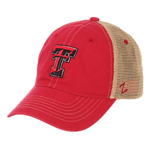 ZHATS NCAA Texas Tech Red Raiders Men's Institution Relaxed Cap, Adjustable, -