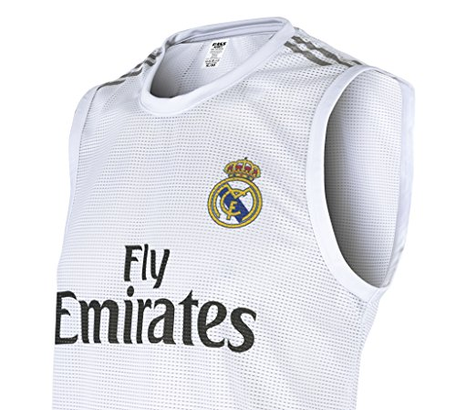 Rass Collection Real Madrid Sleeveless Training Soccer Jersey_MMW3376 - International Bermuda Shop Sports