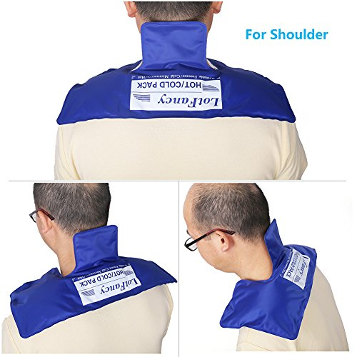 Lotfancy Gel Ice Pack For Shoulder Neck Hot Cold Therapy