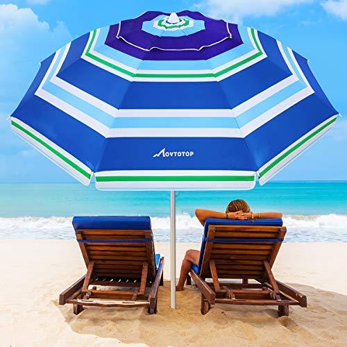 MOVTOTOP Beach Umbrella 6.5ft