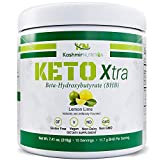 Cheap Exogenous Ketones Supplement | Best Flavored Keto Powder with Raw Sucralose | Maintain Ketosis with Keto BHB Salts | Keto Supplement to Increase Endurance and Mental Focus | Lemon Lime