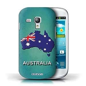 Kobalt® protector duro de nuevo caso / cubierta para el Samsung Galaxy S3 Mini | Australia/australiano Diseño | Naciones bandera colección