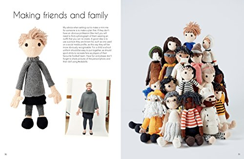 Edward's Crochet Doll Emporium: Flip the Mix-and-Match Patterns to Make and Dress Your Favourite People by Pavilion (Image #5)