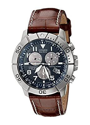 Citizen-Men-s-BL5250-02L-Titanium-Eco-Drive-Watch-with-Leather-Band