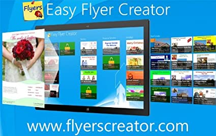 amazon com easy flyer creator 2 0 design flyers business flyer