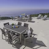 Cheap Coral Bay Outdoor Wicker Dining Set with Chat Set and Lounges