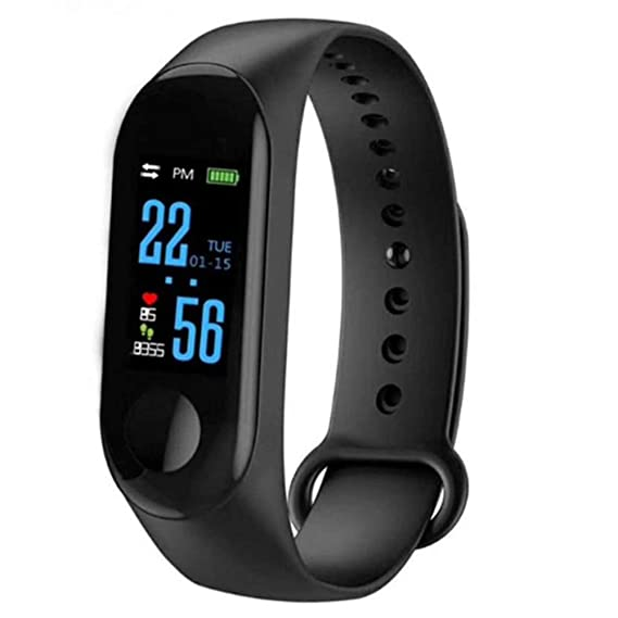 Amazon.com: Fitness Tracker Smart Watch Heart Rate Monitor ...