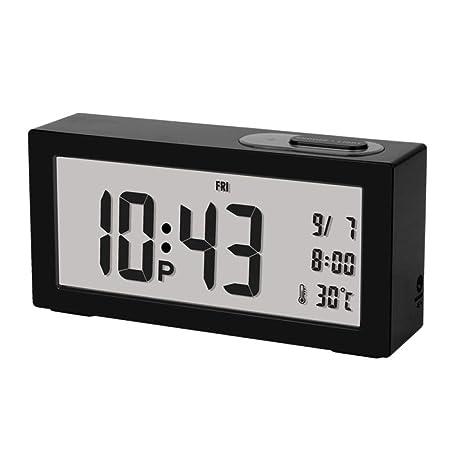 LKXNB Nuevo Reloj Despertador con Luz Inteligente Reloj ...