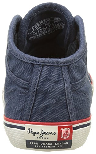 Pepe Jeans London Industry Road Junior, Zapatillas para Niños Azul (Navy)