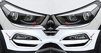 Hyundai Tucson modelo 2015-2016,marcos de faros antiniebla frontales ...