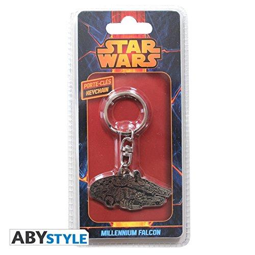 ABYstyle STAR WARS Porte-cl/és Millennium Falcon