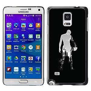 Planetar® ( Sci Fi City ) Samsung Galaxy Note 4 IV / SM-N910F / SM-N910K / SM-N910C / SM-N910W8 / SM-N910U / SM-N910G Fundas Cover Cubre Hard Case Cover